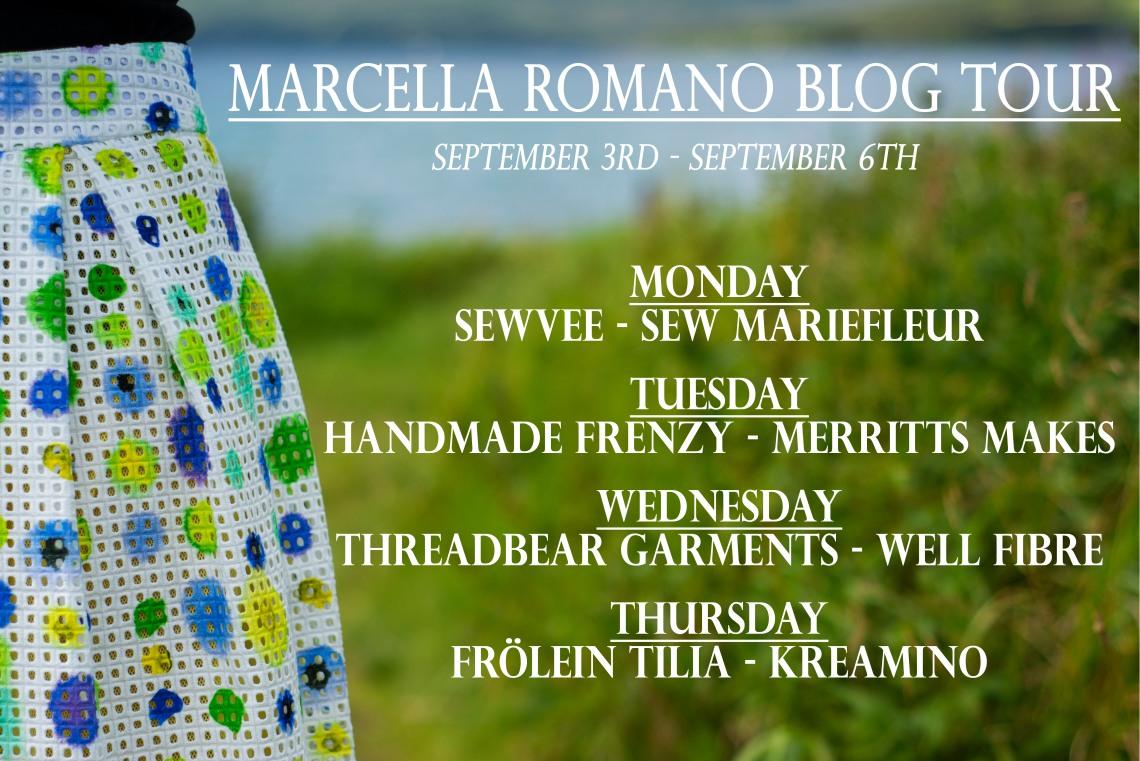 Sew Mariefleur Marcella Romano Blog Tour